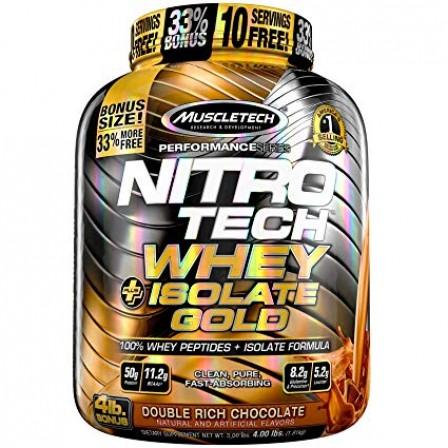 MuscleTech Nitro Tech Whey Plus Isolate Gold 1810 gr.