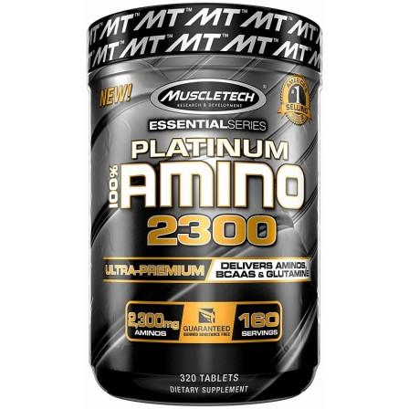 MuscleTech Platinium 100% Amino 2300 320 tabs.