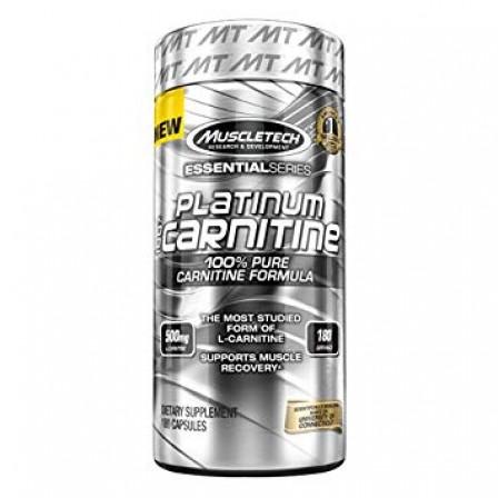 MuscleTech L-Carnitine 180 caps.