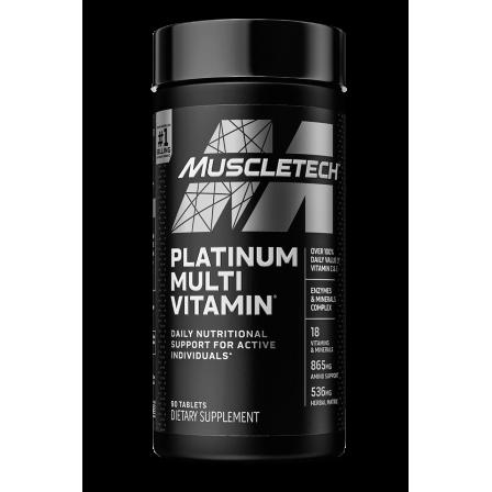 MuscleTech Platinum Multi Vitamin 90 caps.