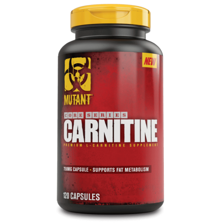 Mutant Core Series Carnitine 120 caps.
