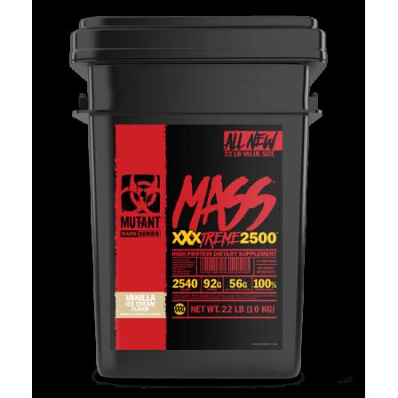 Mutant Mass Xxxtreme 2500 10 000 gr.