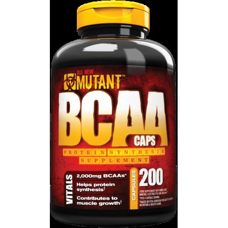 Mutant BCAA 200 caps.
