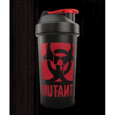 Mutant Nation Shaker Black 1000 ml.