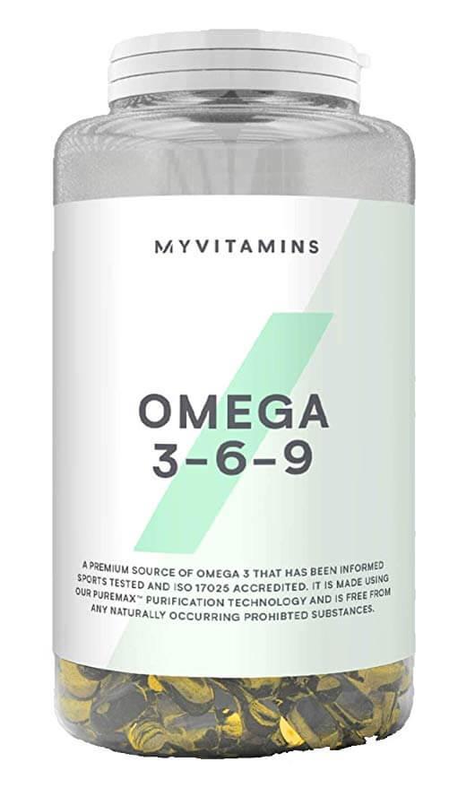Myprotein Omega 3 6 9 120 Caps Protein4e Com