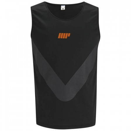 Myprotein Running Vest Black / Потник