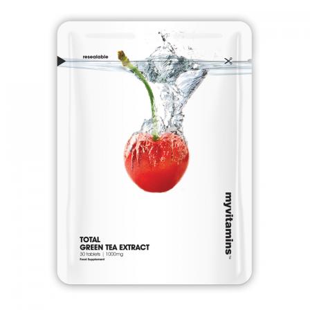 Myvitamins Total Green Tea Extract 60 tabs.
