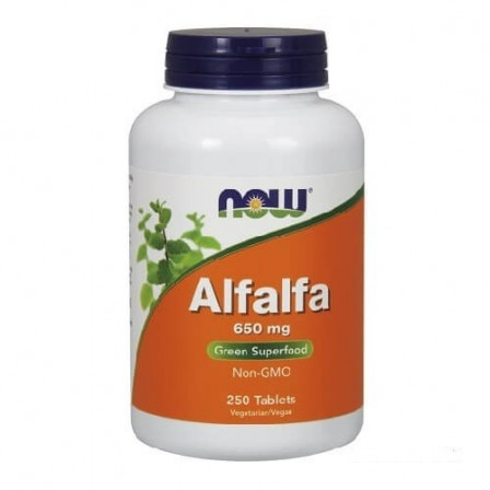 NOW Foods Alfalfa 650 mg 250 tabs.