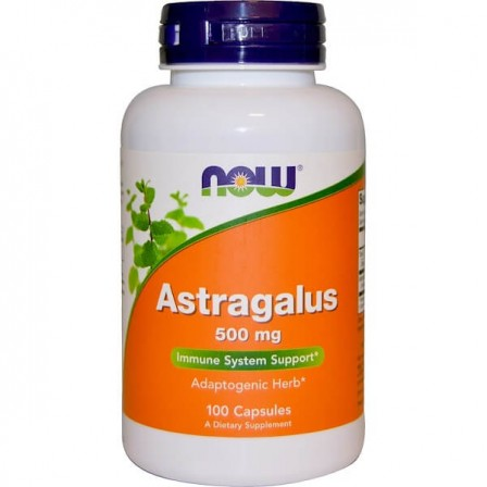 NOW Foods Astragalus 500 mg 100 caps.