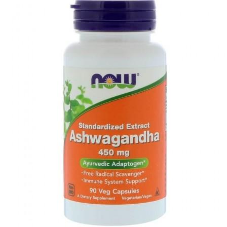 NOW Foods Ashwagandha Extract 450 mg 90 veg caps.