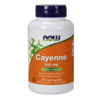 NOW Foods Cayenne 500mg 100 veg caps.