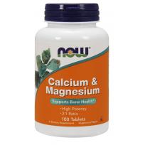 NOW Foods Calcium & Magnesium 100 tabs.
