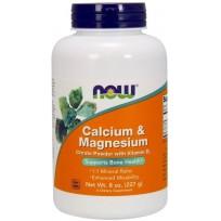 NOW Foods Calcium & Magnesium Citrate Powder with Vitamin D3 227 gr.