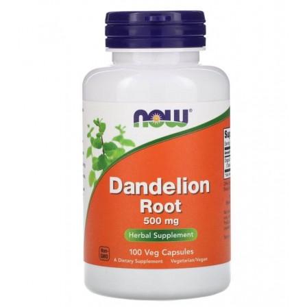 Now Foods Dandelion Root 500mg 100 veg caps.