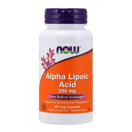 NOW Foods Alpha Lipoic Acid 250mg 60 veg caps.