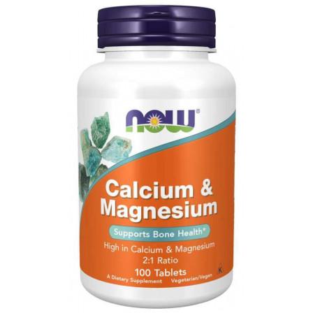 NOW Foods Calcium and Magnesium 100 tabs.