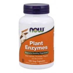 NOW Foods Plant Enzymes 120 veg caps.