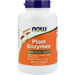 NOW Foods Plant Enzymes 240 veg caps.