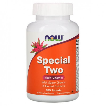 NOW Foods Special Two Multi Vitamin 180 tabs.