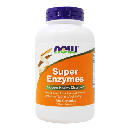 Now Foods Super Enzymes 180 caps.