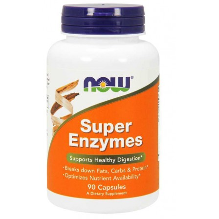 Now Foods Super Enzymes 90 caps.