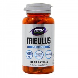 NOW Foods Tribulus 500 mg. 100 caps.