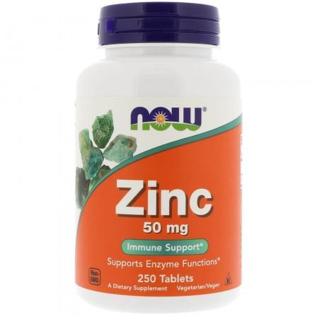 NOW Foods Zinc 50 mg 250 tabs.