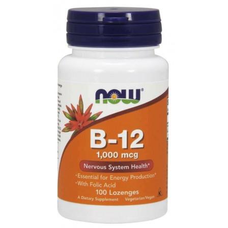 NOW Foods Vitamin B-12 1000mcg 100 Lozenges