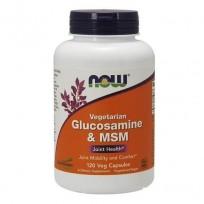 NOW Foods Glucosamine & MSM 60 caps.