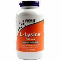 NOW Foods L-Lysine 500mg 250 caps.