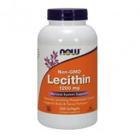NOW Foods Lecithin 1200mg Non-GMO 200 softgels