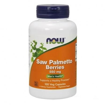NOW Foods Saw Palmetto 550mg 100 Veg Capsules