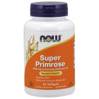 NOW Foods Super Primrose 1300mg 60 caps.