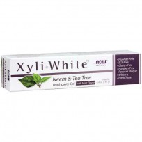 NOW Foods XyliWhite Neem & Tea Tree Toothpaste Gel 181 gr.