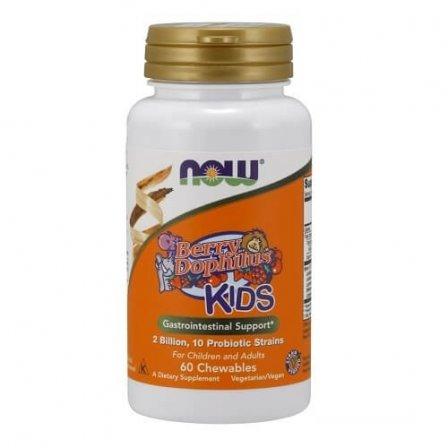 NOW Foods BerryDophilus Kids 60 Chewables