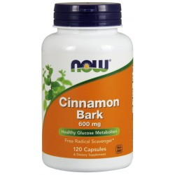 NOW Foods Cinnamon Bark 120 caps.