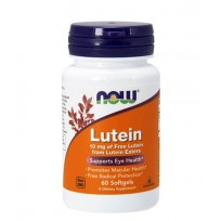 Now Foods Lutein 10mg 60 softgels