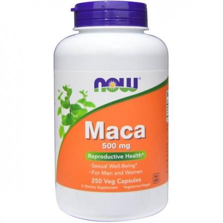 Now Foods Maca 500mg 250 veg caps.