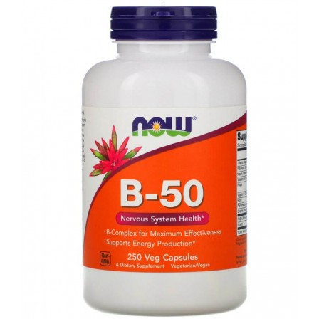 Now Foods Vitamin B-50 250 veg caps.