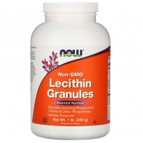 Now Foods Lecithin Granules Non-GMO 454 gr.