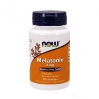NOW Foods Melatonin Chewable 3mg 90 Lozenges