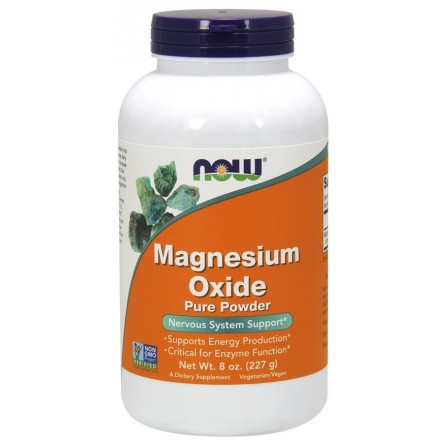 NOW Foods Magnesium Oxide 227 gr.