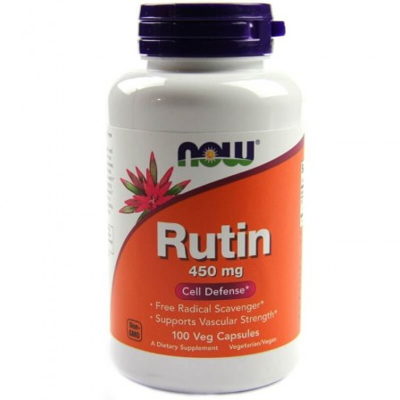 Now Foods Rutin 450mg 100 Veg Capsules