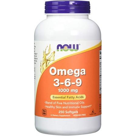 NOW Foods Omega 3-6-9 1000mg 250 softgels
