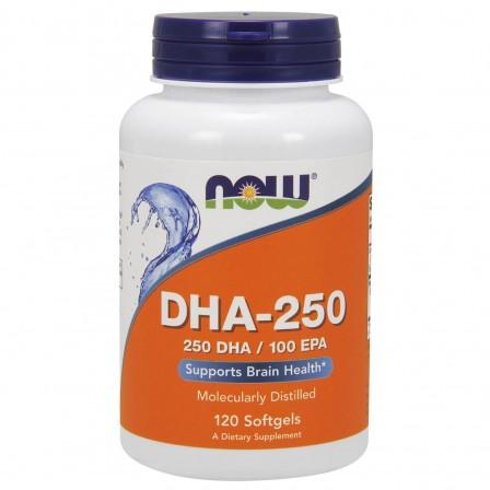 Now Foods DHA-250 / 100 EPA 120 Softgels