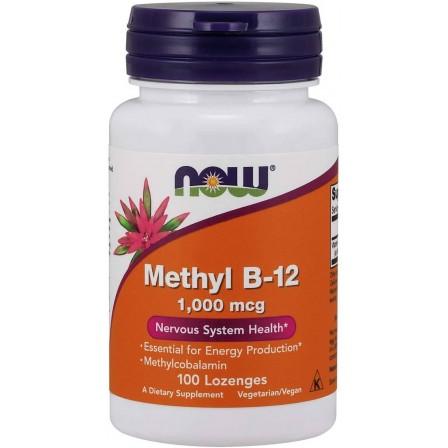 Now Foods Methyl B-12 1000mcg 100 Lozenges