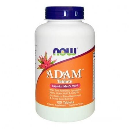 NOW Foods ADAM Mens Vitamins 120 tabs.