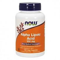 NOW Foods Alpha Lipoic Acid 100mg 120 caps.
