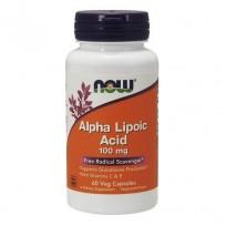 NOW Foods Alpha Lipoic Acid 100mg 60 veg caps.