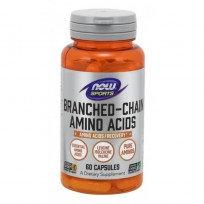 NOW Foods Branched Chain Amino Acids 60 caps.